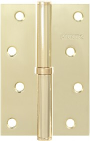 Петля съемная Punto 113-4 100*70*2.5 SB матовое золото