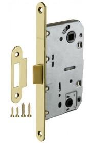 Защелка врезная Fuaro Plastic P96WC-50 SG матовое золото
