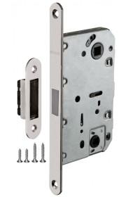 Защелка врезная Fuaro сантехническая магнитная Magnet M96WC-50 SN матовый никель