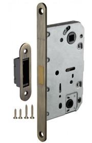 Защелка врезная Fuaro сантехническая магнитная Magnet M96WC-50 AB бронза
