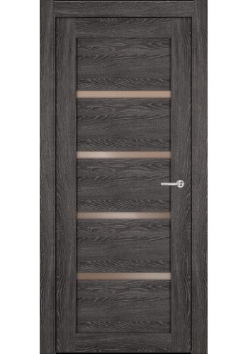 Двери Статус 121С Дуб патина стекло Сатинато бронза