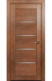 Двери Статус 121С Анегри стекло Сатинато бронза