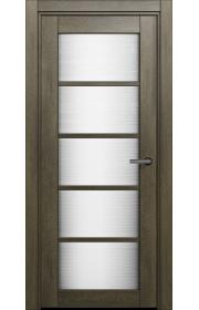 Двери Статус 122 Дуб винтаж стекло Канны