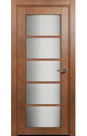 Двери Статус 122С Анегри стекло Сатинато белое