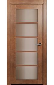 Двери Статус 122С Анегри стекло Сатинато бронза