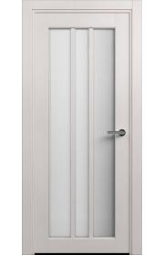Двери Статус 136 Дуб белый стекло Канны
