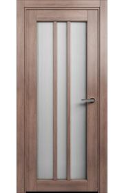 Двери Статус 136 Дуб капучино стекло Канны