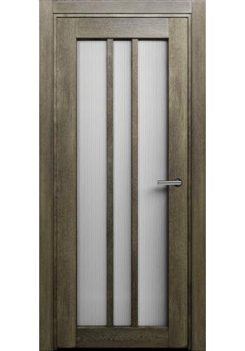 Двери Статус 136 Дуб винтаж стекло Канны