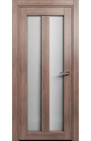 Двери Статус 135 Дуб капучино стекло Канны