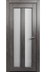 Двери Статус 135 Дуб патина стекло Канны