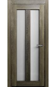 Двери Статус 135 Дуб винтаж стекло Канны