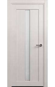 Двери Статус 134 Дуб белый стекло Канны