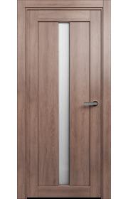 Двери Статус 134 Дуб капучино стекло Канны