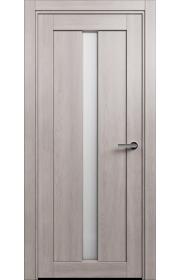 Двери Статус 134 Дуб серый стекло Канны