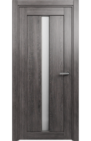 Двери Статус 134 Дуб патина стекло Канны