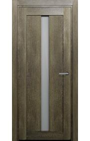 Двери Статус 134 Дуб винтаж стекло Канны