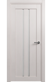 Двери Статус 133 Дуб белый стекло Канны