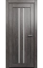 Двери Статус 133 Дуб патина стекло Канны