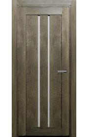 Двери Статус 133 Дуб винтаж стекло Канны