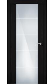 Двери Статус 222 Пепельный венге стекло с Алмазной гравировкой