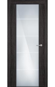Двери Статус 222 Дуб патина стекло с Алмазной гравировкой