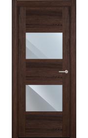 Двери Статус 221 Орех стекло Зеркало