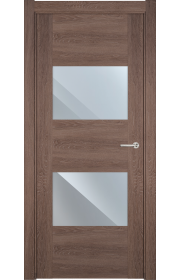 Двери Статус 221 Дуб капучино стекло Зеркало