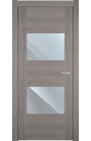 Двери Статус 221 Дуб серый стекло Зеркало