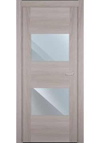 Двери Статус 221 Ясень стекло Зеркало