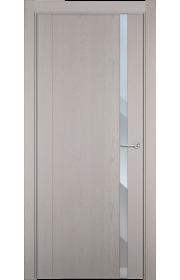 Двери Статус 321 Дуб белый стекло Зеркало