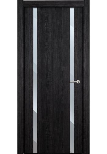 Двери Статус 322 Дуб черный стекло Зеркало