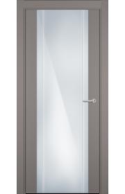 Двери Статус 332 Грей стекло с Вертикальной гравировкой