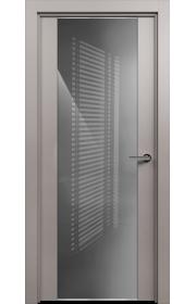 Двери Статус 423 Грей стекло Лакобель серое