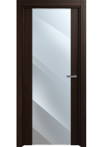 Двери Статус 423 Орех стекло Зеркало