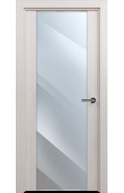 Двери Статус 423 Дуб белый стекло Зеркало
