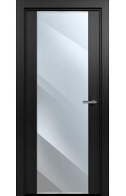Двери Статус 423 Дуб черный стекло Зеркало