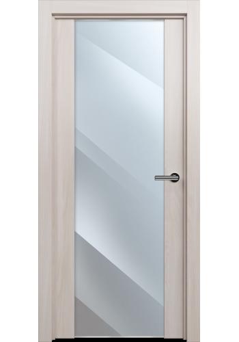 Двери Статус 423 Ясень стекло Зеркало