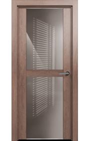 Двери Статус 422 Дуб капучино стекло Лакобель капучино