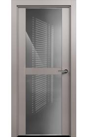 Двери Статус 422 Грей стекло Лакобель серое
