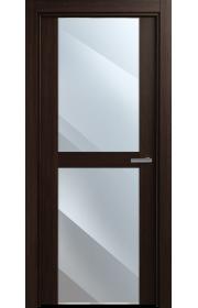 Двери Статус 422 Орех стекло Зеркало
