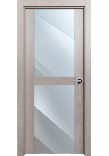 Двери Статус 422 Дуб серый стекло Зеркало