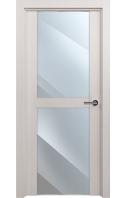 Двери Статус 422 Дуб белый стекло Зеркало