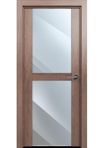 Двери Статус 422 Дуб капучино стекло Зеркало
