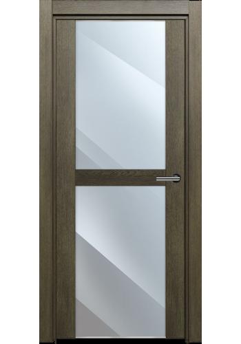 Двери Статус 422 Дуб винтаж стекло Зеркало
