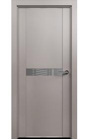 Двери Статус 411 Грей стекло Лакобель серое