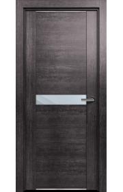 Двери Статус 411 Пепельный венге стекло Зеркало