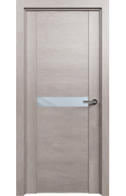 Двери Статус 411 Дуб серый стекло Зеркало