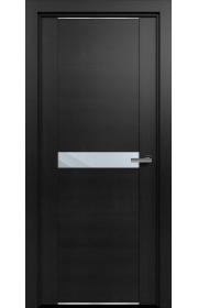 Двери Статус 411 Дуб черный стекло Зеркало