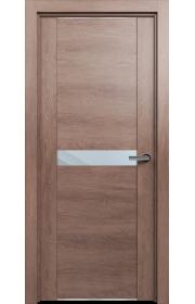 Двери Статус 411 Дуб капучино стекло Зеркало