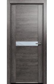 Двери Статус 411 Дуб патина стекло Зеркало